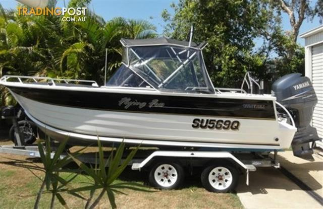 2004 Quintrex Boat 5.7 m 570 Freedom Sport