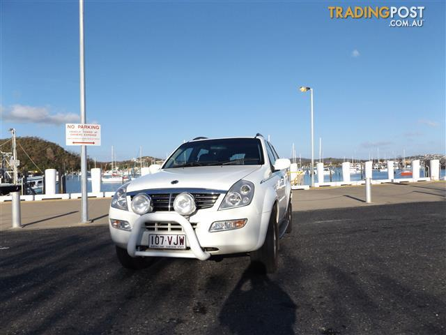 2004 SSANGYONG REXTON RX270 XDi LIMITED Y200 4D WAGON