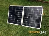 80W Powertech ZM-9130 portable solar kit with extra anderson extension lead.