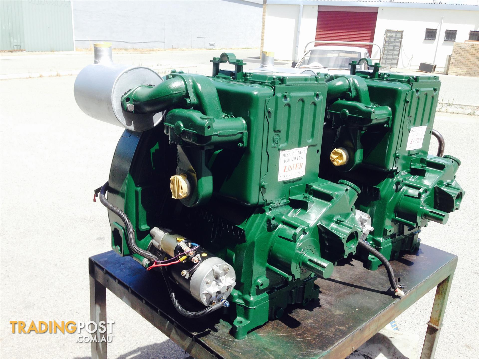 Lister Aircooled Diesel Gensets for sale in Midvale WA