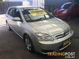2004  TOYOTA COROLLA ASCENT ZZE122R 5Y HATCHBACK