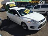 2013  FORD MONDEO LX MC 5D HATCHBACK