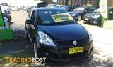2012  SUZUKI SWIFT RE2 FZ 5D HATCHBACK
