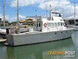 "S2466 – Online Auction – 19.9mt Ex-Customs Patrol Boat/Work Boat ""Charles Kingston"""