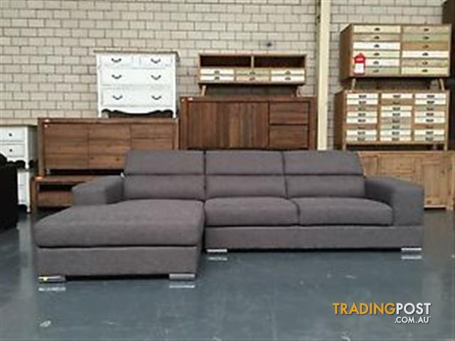 Manny lounge 2 5seat chaise for sale in campbelltown nsw for Y h furniture trading