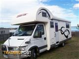 MOTOR HOME (Island Bed) DUAL REAR WHEELS IVECO 3 lt TURBO DIESEL