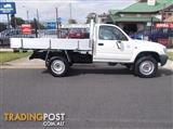 2004 TOYOTA HILUX  LN167R CAB CHASSIS