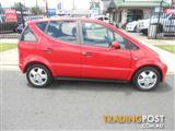 2000 MERCEDES-BENZ A140 AVANTGARDE W168 HATCHBACK
