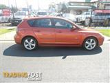 2004 MAZDA 3 SP23 BK Series 1 HATCHBACK