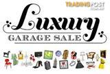 NOT TO BE MISSED SALE - GREAT QUALITY BARGINS. Saturday 6th February 8am - 3pm