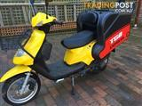 2013 TGB TRANSCOOT DELIVERY 125CC SCOOTER