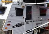 2007 Goldstream mini 12 ft pop top caravan
