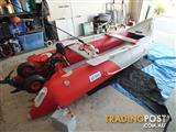3.7M INFLATABLE BOAT/KAYAK