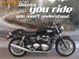 2012 Triumph Thruxton 900   Road