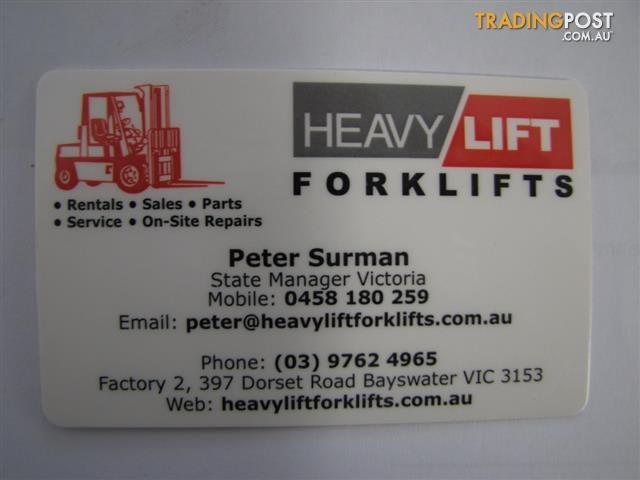 FORKLIFT-CROWN-20MT130A-WALKY-STACKER-1-TON-CAPACITY-H454
