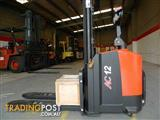 FORKLIFT - NEW HELI AC12 WALKY RIDE STILLAGE STACKER