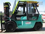 Mitsubishi FD40KE Fully Serviced and OHS compliant. First to see will BUY!!