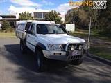 2001 NISSAN PATROL DX (4x4) GU LEAF C/CHAS