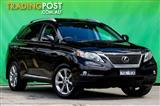 2011  Lexus RX350 Sports Luxury GGL15R Wagon