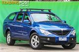 2010  SsangYong Actyon XDi 100 Series Wagon