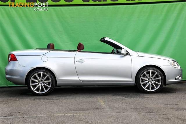 2007 volkswagen eos fsi 1f convertible for sale in ringwood vic 2007 volkswagen eos fsi 1f. Black Bedroom Furniture Sets. Home Design Ideas