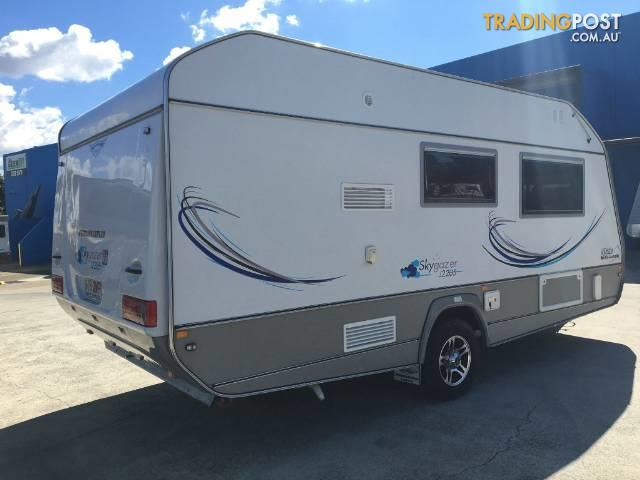 New Kratzmann Caravans Of Brisbane Has Released The Franklin Sonic Which Includes  Apart From Franklin Caravans, They Also Sell Jurgens, Goldstream Camper Trailers, Track Trailers, Newlands Caravans, Concept Caravans, And Avan