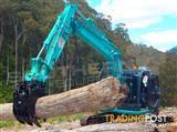 12-15 Ton Heavy Duty Hydraulic Excavator Grabs