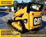 CATERPILLAR 259.B3 CAT 259B.3 Compact Track Loader / Fitted with GP bucket / Manual Hitch
