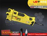 UBT45S Moil & Wedge Tools combo for Hydraulic Hammer