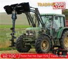DIGGA PDX2 Tractor & Farm Front loaders Post Hole Digger
