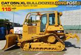 #2217D CAT D5 Dozer CATERPILLAR D5N.XL Bulldozer with AC cab & Brush Guard [Low hours]