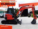#2190A KUBOTA [5.5Ton] Steel Tracks Compact Excavator U55 [5 HOURS]