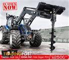 DIGGA PD4 Tractor & Farm Front loaders Post Hole Digger