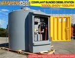 7000 L COMPLIANT BUNDED DIESEL STATIONS - 240VOLT DMDS7000R240