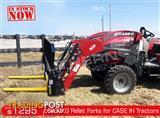 DIGGA 1200kg Agricultural Loader Pallet Forks to suit Case IH Tractors
