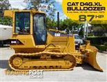 CATERPILLAR D4 CAT D4G XL Dozer / Bulldozer with AC cab #2201A - Low hours Machine. 6 way Blade fitted