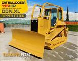 #2217 CATERPILLAR D5N.XL Dozer / CAT D5 Bulldozer with AC cab & Brush Guard [Low hours]