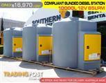 10000 LITRE COMPLIANT BUNDED DIESEL STATIONS  12 VOLT DMDS10000R12