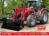 DIGGA 2130 mm 4 in 1 Bucket suit Tractor Front End Loader