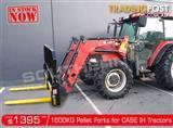 DIGGA 1600kg Agricultural Loader Pallet Forks to suit Case IH Tractors