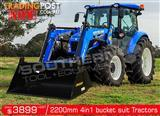 DIGGA 2200 mm 4 in 1 Bucket suit Tractor Front End Loader