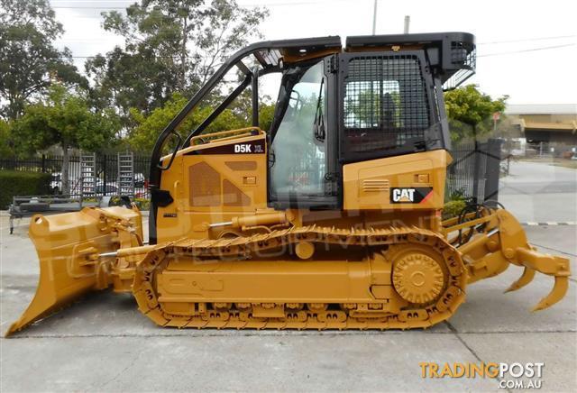 Caterpillar-D5K-D5K2-Dozers-Screens-Sweeps-CAT-D5-Forestry-guard