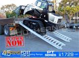 Aluminium Loading Ramps 4.5 Ton 500mm Wide PT Series