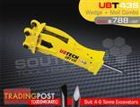 UBT43S Moil & Wedge Tools combo for Hydraulic Hammer