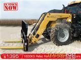 DIGGA 1600kg Agricultural Loader Challenge Tractors Pallet Forks