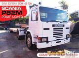 SCANIA P82M 4x2 Prime mover Truck and Low Loader Combo