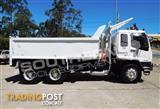 #2237C ISUZU FVZ 1400 275HP Tipper Truck / Rigid Truck - 65,000 KM
