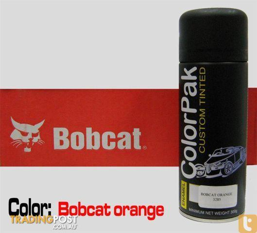 Touch Up Paint For Bobcat Loaders Orange Spare For