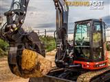 7-9 Ton Heavy Duty Hydraulic Excavator Grabs
