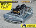 Slasher. 4FT 1280mm Brush Cutter attachment Excavator / Skid steer Pick Up